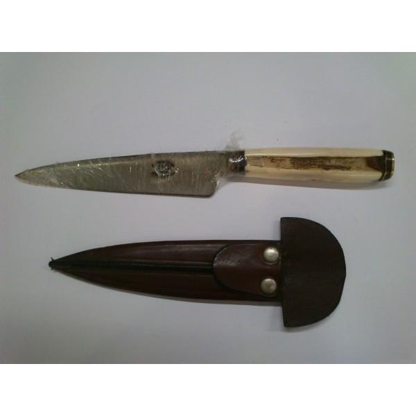 Cuchillo De Mango De Hueso De ñandú